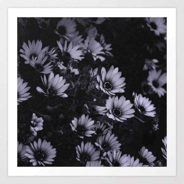 Flowers everywhere Art Print