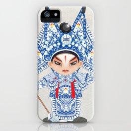 Beijing Opera Character ZhaoYun iPhone Case