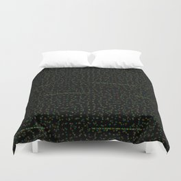 the fuck is going on here Duvet Cover