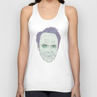 clint eastwood Tank Tops featuring Clint Eastwood by Maciek Szczerba