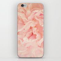 blush iPhone & iPod Skins featuring BLUSH by Jenny Ardell