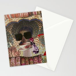 Life of the Party Collage Stationery Cards
