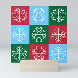 Snowflake 3x3 Mini Art Print