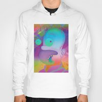 homer Hoodies featuring TRIPPIN' HOMER by i live