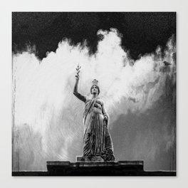 Monument Series: Gravity Angel #4 Canvas Print