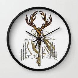 Wilderness Key Wall Clock