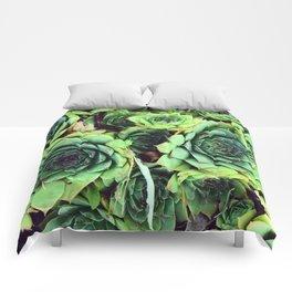 LIFE IN GREEN Comforters