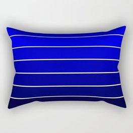 Royal Blue Ombre Rectangular Pillow
