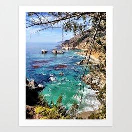 Big Sur Beauty Art Print