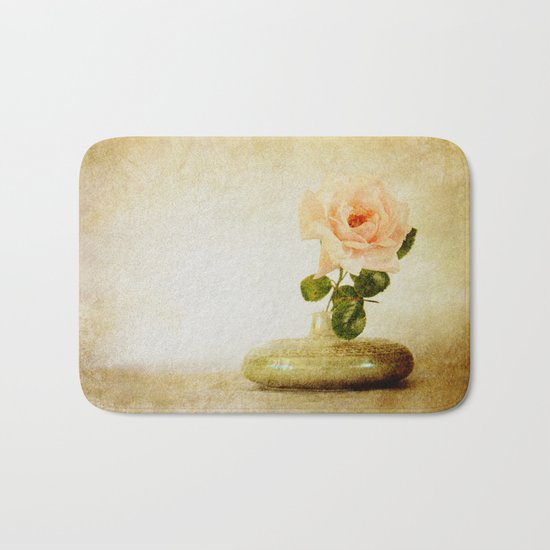 Vintage Rose  - JUSTART © Bath Mat