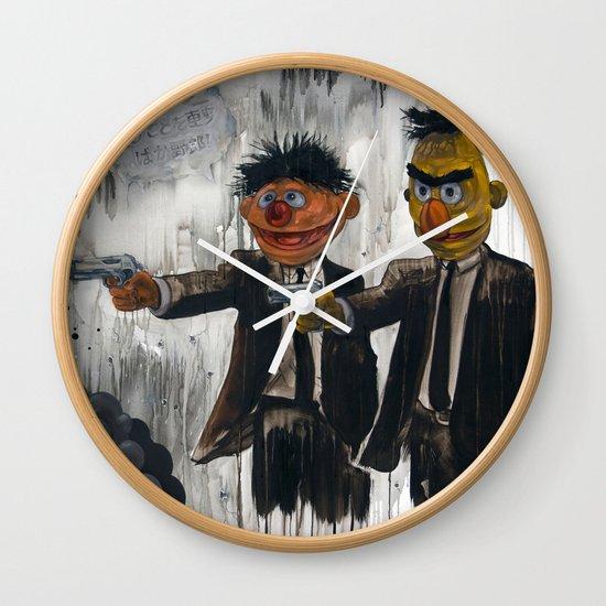 Pulp Street Wall Clock