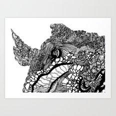Whale #1 Art Print