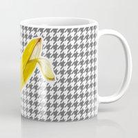 banana Mugs featuring Banana by Ozghoul