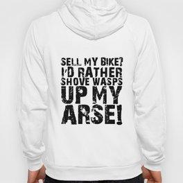 Sell My Bike Mens Funny Motorbike Superbike Moto biker motorcycle Hoody