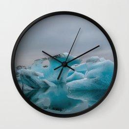 Ice, Ice, Baby Wall Clock