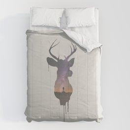 Deer Head V Comforters