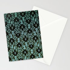 BOHO PAISLEY IN MINT Stationery Cards