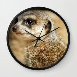 Meerkat (Omaha's Henry Doorly Zoo) Wall Clock