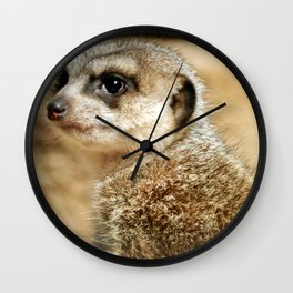 Meerkat (Omaha's Henry Doorly Zoo) Wall Clock