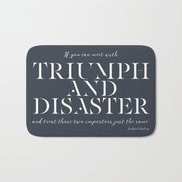 Triumph & Disaster Bath Mat