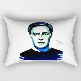 Marlon Brando Rectangular Pillow