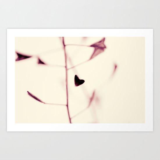 nature's little sweet hearts Art Print