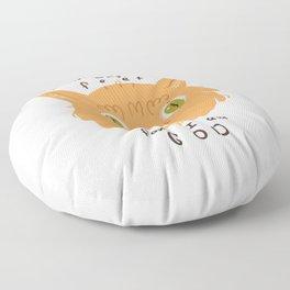 Bean Queen Floor Pillow