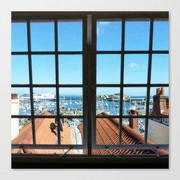 Through The Window Canvas Print