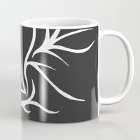deathly hallows Mugs featuring Deathly Hallows - inverted by Ria-Ra