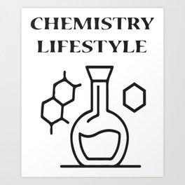 Chemistry Lifestyle Art Print