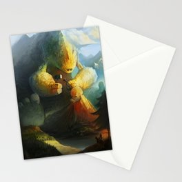 Mountain Birth Stationery Cards