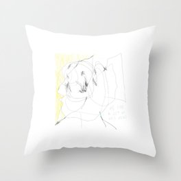 lots in mind Throw Pillow