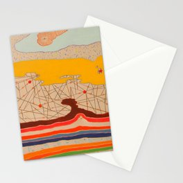obstructions Stationery Cards