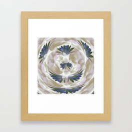 Lilies in the Round Framed Art Print