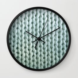 eau de knitwit Wall Clock