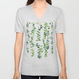 Eucalyptus Garland  Unisex V-Neck