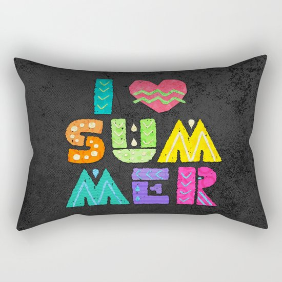 I love summer! Rectangular Pillow