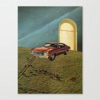 doors Canvas Prints featuring doors by Jesse Treece