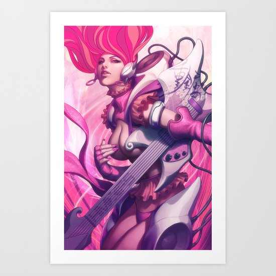 Pepper Heavy Metal Art Print