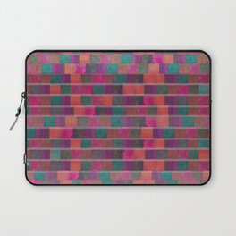 """""""Full Color Squares Pattern"""" Laptop Sleeve"""
