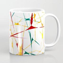 Colorful Splatter Abstract Shapes Coffee Mug