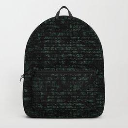 Light Green Dna Data Code Backpack