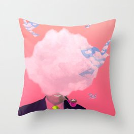 This Is Not A Cloud III Throw Pillow
