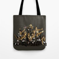 snk Tote Bags featuring SNK by kanda3egle