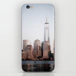 NYC skyline iPhone Skin