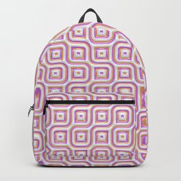 Rose Truchet Tilling Pattern Backpack