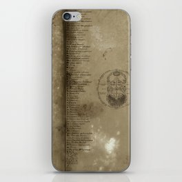 Declaration, a antique paper texture that would look great on a case of any kind. Artist recommends  iPhone Skin