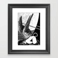 asc 638 - L'ange incarné (The earhtly angel) Framed Art Print
