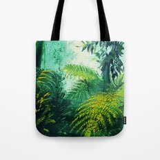 Rainforest Lights and Shadows Tote Bag