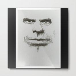 Look Into My Eyes Metal Print
